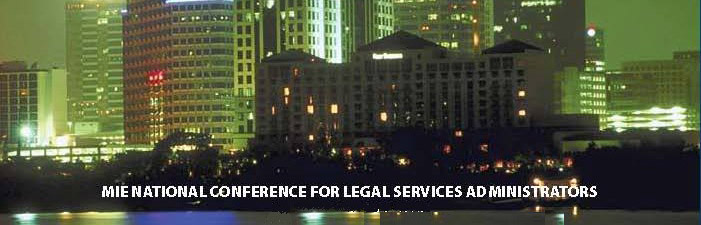 MIE - National Conference for Legal Services Administrators